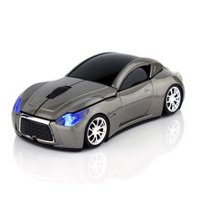 3D Sport Car Shape 2.4GHz Wireless 1600DPI Usb Optical Gaming Mini Mouse Gamer Mice Ergonomic For PC Laptop Computer 5 Colors