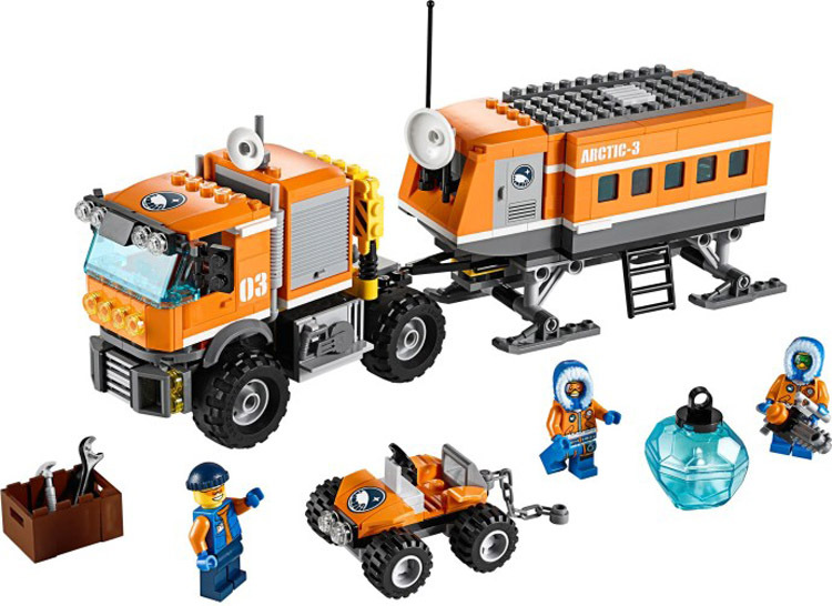 BELA 10440 394 pz Città Arctic Outpost Poliziotti corredi di costruzione di Modello compatibile con lego city 3D blocco giocattoli Educativi hobby