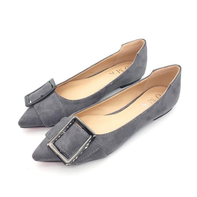 Мода женская обувь удобные плоские туфли Новое прибытие квартиры-2016-1-Квартиры обувь больших размеров Женской обуви