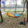 190*72cm Single Person Parachute Fabric Ultraportable Outdoor Hammock 2016 Travel Kit Camping Hiking Striped Swing Sleeping Bed