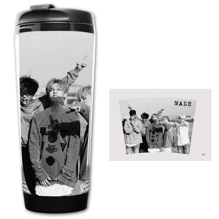 Kpop Star Ulzzang drinkware goods BIGBANG Korean style image coffee cup tea GDragon TOP Daesung TaeYang SeungRi bts exo k-pop