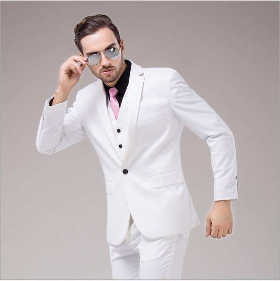 Popular White and Pink Prom Suit-Buy Cheap White and Pink Prom ...