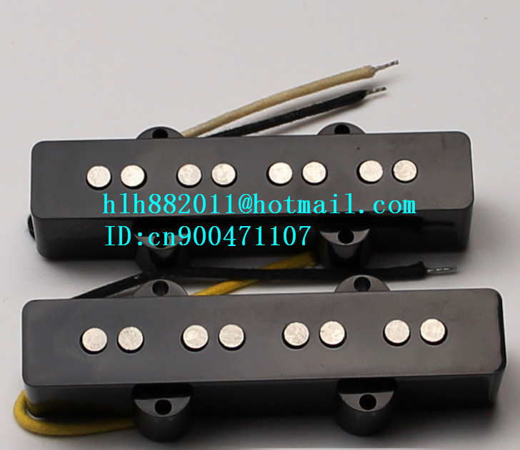 free shipping new 4 strings electric bass guitar open pickup  HY-8313 free shipping new 5 strings electric bass guitar open pickup in black w 8369