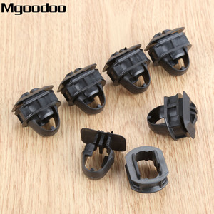 Image 3 - Mgoodoo 10set Auto Car Side Skrit Trim Clips Side Trim Fender Retainer Clips Accessories For Mercedes Benz C/E/CLK class