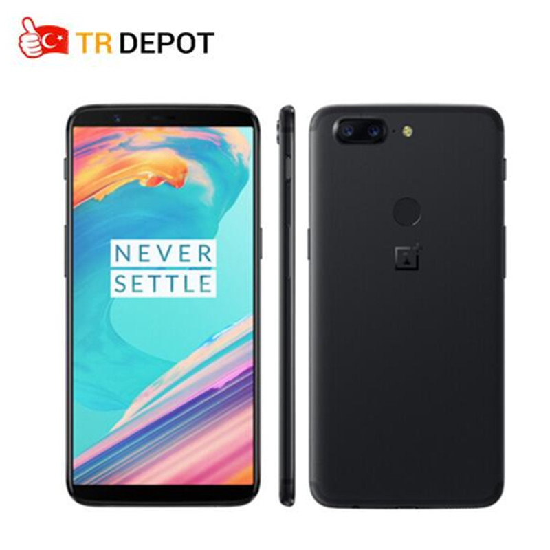 "OnePlus 5T 5 T OxygenOS Android SmartPhone 6GB 64GB Snapdragon 835 Octa Core 6.01"" 1080x2160P 18:9 20.0MP 16.0MP Fingerprint ID"