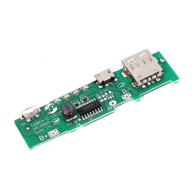 2 шт. 5 В 1A Запасные Аккумуляторы для телефонов Зарядное устройство доска зарядки платы Step Up Повышение модуль Мощность мобильный телефон для …
