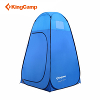 KingCamp Automatic Toilet Shower Tent Ultralight Portable Single Moving Folding Tents for Summer Changing Room Hiking Camping