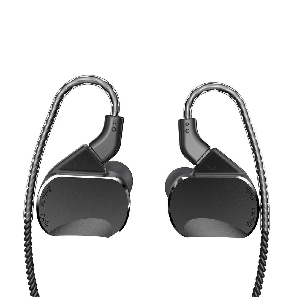 BQEYZ BQ3 Headset 3BA+2DD In Ear Earphones   Earbud HIFI Bass DJ Monito Running Sport Earphone Earplug Headset Earbud With Mic
