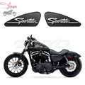 Sportster Logo Custom Graphics Fuel Tank Decals Stickers For Harley Sportster XL 883 1200 XR1200 Iron Forty Eight Seventy Two