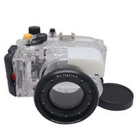 Mcoplus 40m/130ft RX 100 Underwater Waterproof Diving Housing Camera Case Bag for Sony RX 100 RX100