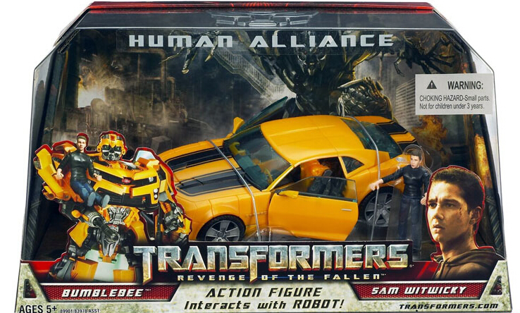 Transformation Robot Human Alliance Bumblebee and Sam