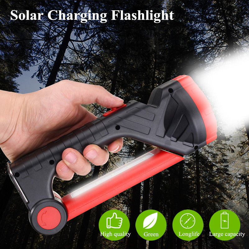 Genial Top Multifunktions Solar Lade Camping Led Licht Outdoor Tragbare Notfall Laterne Taschenlampe