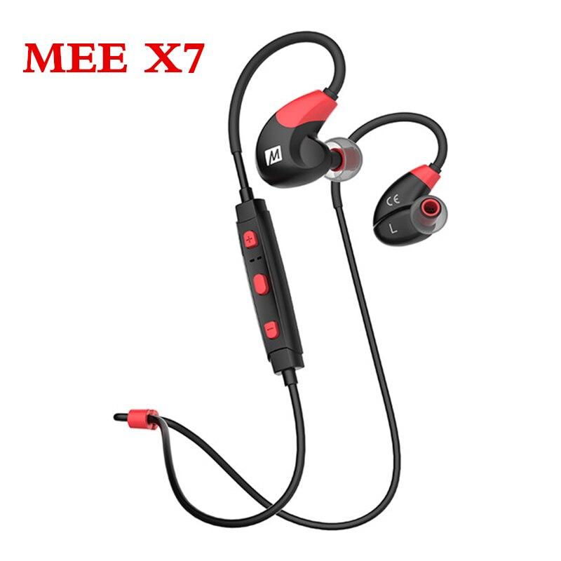все цены на  2017 Newest MEE Audio X7 Stereo Bluetooth Wireless Sports Running In-Ear HD Headphones With Mic Calls Control Earphone Headset  онлайн