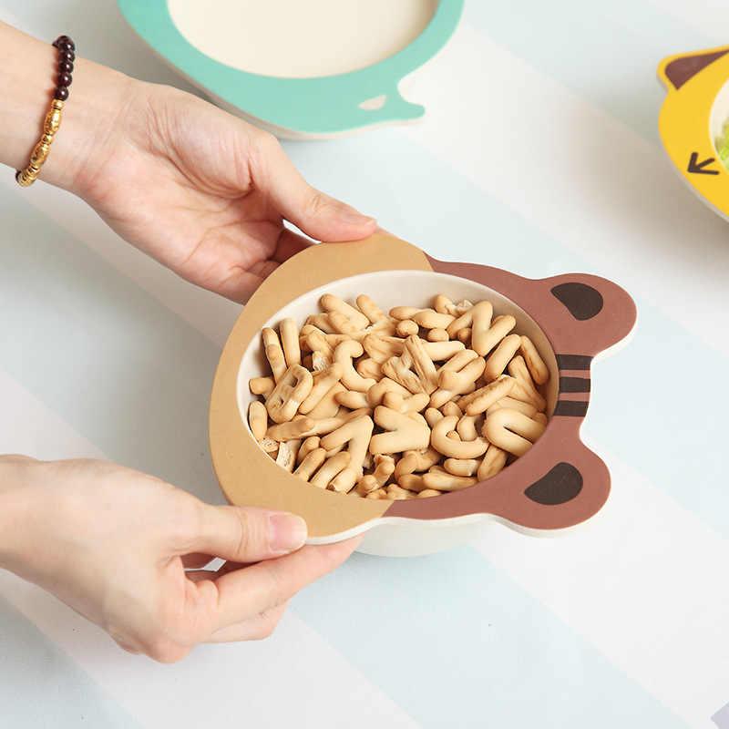 เด็กอาหารจานไม้ไผ่เด็กข้าว Originality การสร้างแบบจำลองแผ่นบริการอนุบาล Defense หักชาม