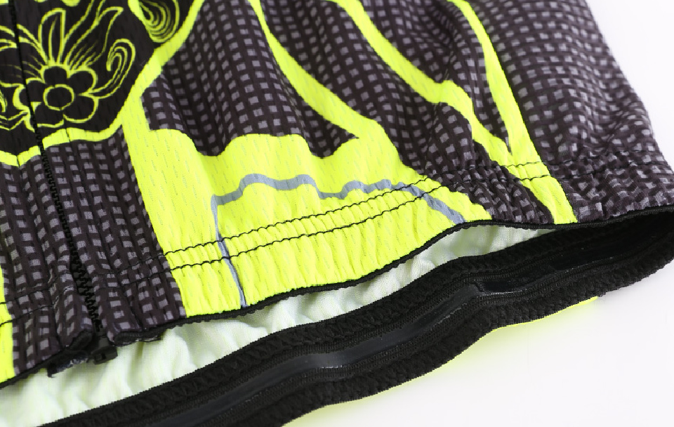 Jacquard weave fabric on side,can keep you breathable quick dry