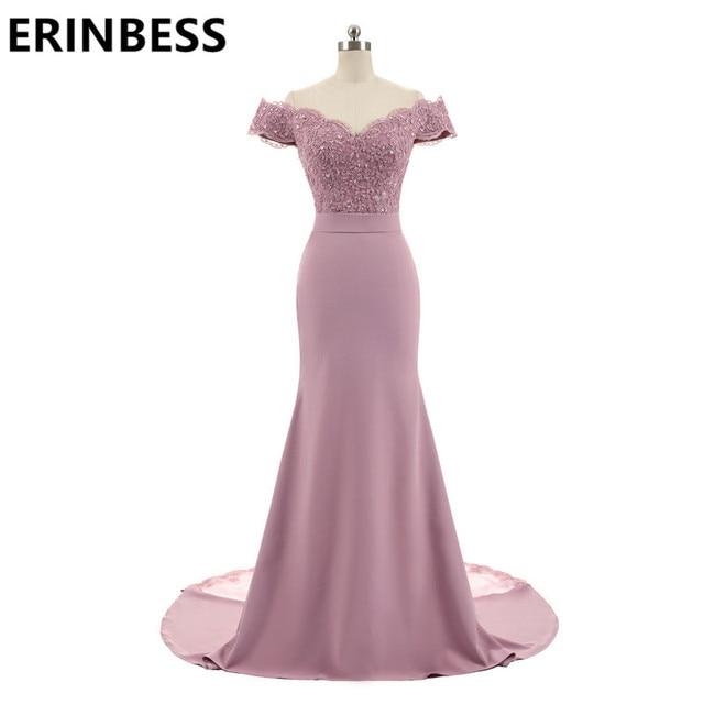 New Arrival Pink V Neck Cap Sleeve Vintage Lace Appliques Beaded Mermaid Bridesmaid Dresses Party Gowns Vestido De Festa