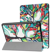 """Para ASUS Zenpad 10 Z301MFL Z301ML Color de Impresión de la pu Cubierta elegante Del Caso de la Tableta Del Soporte de cuero Para ASUS Zenpad 10.1 """"Z300C Z300M Z300CL"""