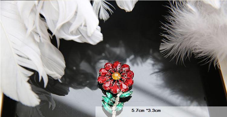 3D Handgjorda Rhinestone Beaded Patches för kläder Animal Bee Patch - Konst, hantverk och sömnad - Foto 6