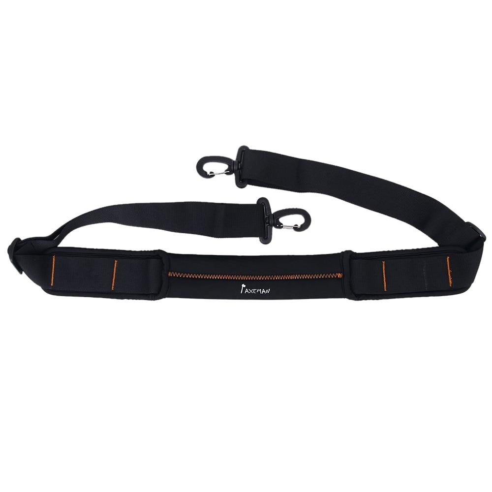 5PCS Boutique AXEMAN Non-slip Shock Absorbing Shoulder Strap for Shoulder Bag Black