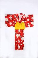 Japan Traditional Cotton Kimono with Obi Japanese Women Yukata Sleepwear Novelty Evening Dress Kimono Cosplay Costume A60511
