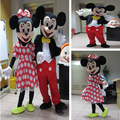 2015 High Quality Minnie Mascot mouse Mascot Costume Free Shipping