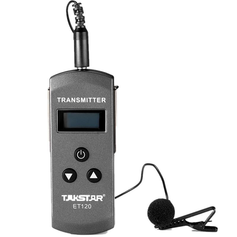 Original Takstar ET120 200 Channel FM Radio Wireless Transmitter Best price