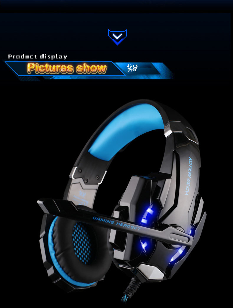 Gamer Bass Java Headphone 6