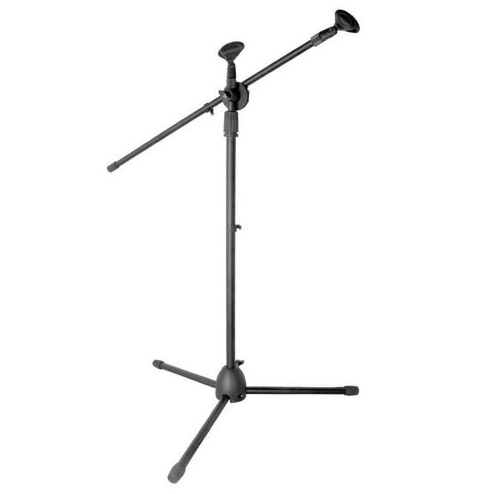 Microfono universale Tripod Floor Stand Microfono Regolabile Del Supporto della Clip Staccabile a due punte Stage Microfono StandMicrofono universale Tripod Floor Stand Microfono Regolabile Del Supporto della Clip Staccabile a due punte Stage Microfono Stand