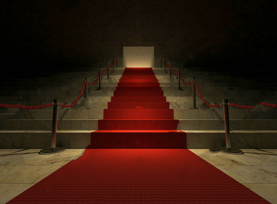 hollywood red carpet marble stair backdrops Vinyl cloth High quality Computer print party photography backgrounds