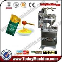 Full Automatic Honey Special Shape Bag Liquid Packing Machine