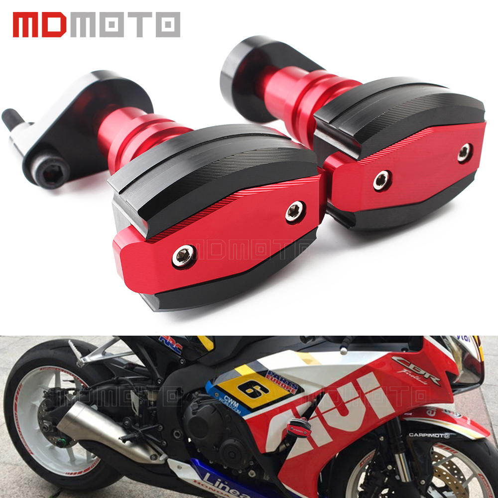 MDMOTO Motorcycle Frame Crash Pad Engine Case Sliders Falling Protector for Honda CBR1000RR CBR 1000RR CBR 1000 RR 2006 2007 for honda cbr 1000rr cbr1000rr 2008 2009 2010 2011 gold motorcycle frame slider crash protector bobbins falling protection