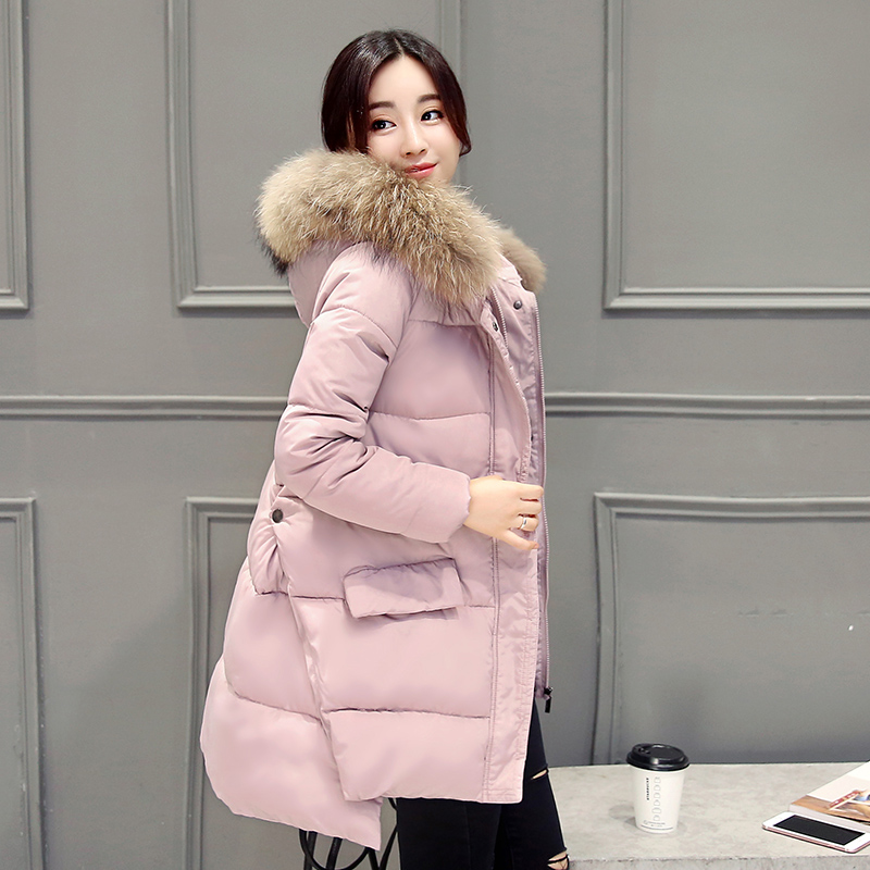 New 2016 women long down jacket coat jacket