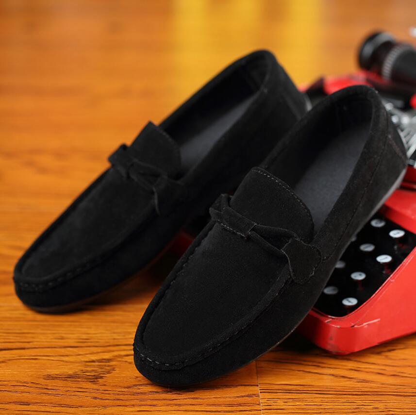 SAGYUA 남성 최신 패션 봄 가을 캐주얼 로퍼 Hombre Men - 남성용 신발 - 사진 3