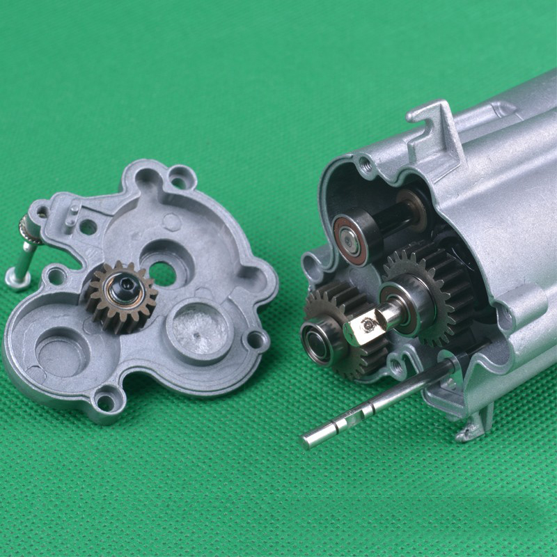 HG 3-Speed Transmission Gear Box Assembly for P407 1//10 2.4G 4WD Rc Car Parts AS