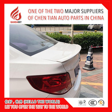 New ABS primer black white red ect color car rear lip spoiler for Sail 3 2015