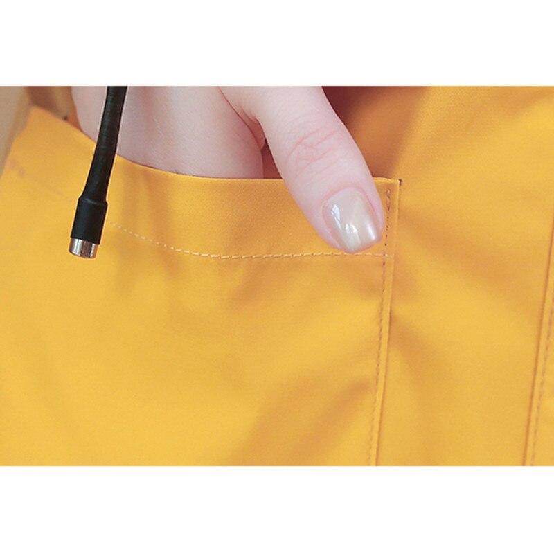 Spring Autumn Fashion Long Trench Coat Women Hooded Single-breasted Thin Windbreaker 2019 Female Korean Casual Elegant Overcoat 32