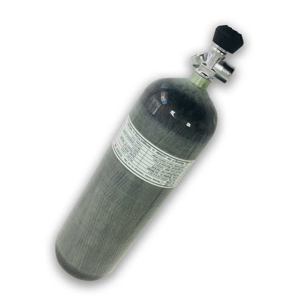 Wholesale Hunting Paintball PCP Air Gun TankHP 4500PSI Carbon Fiber Gas Cylinder Air Bottle With Valve From ACECARE