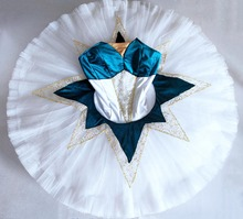 BLue Le Corsaire Professional Ballet Tutus Classical Performance Platter Costumes Odalisque La Bayadere
