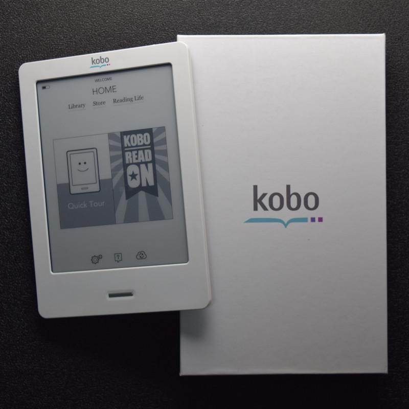 Prix pour Goond état Kobo tactile N905 Un ebook lecteur bon état 2 GB WIFI en ligne livre magasin E-écran d'encre mieux que kindle