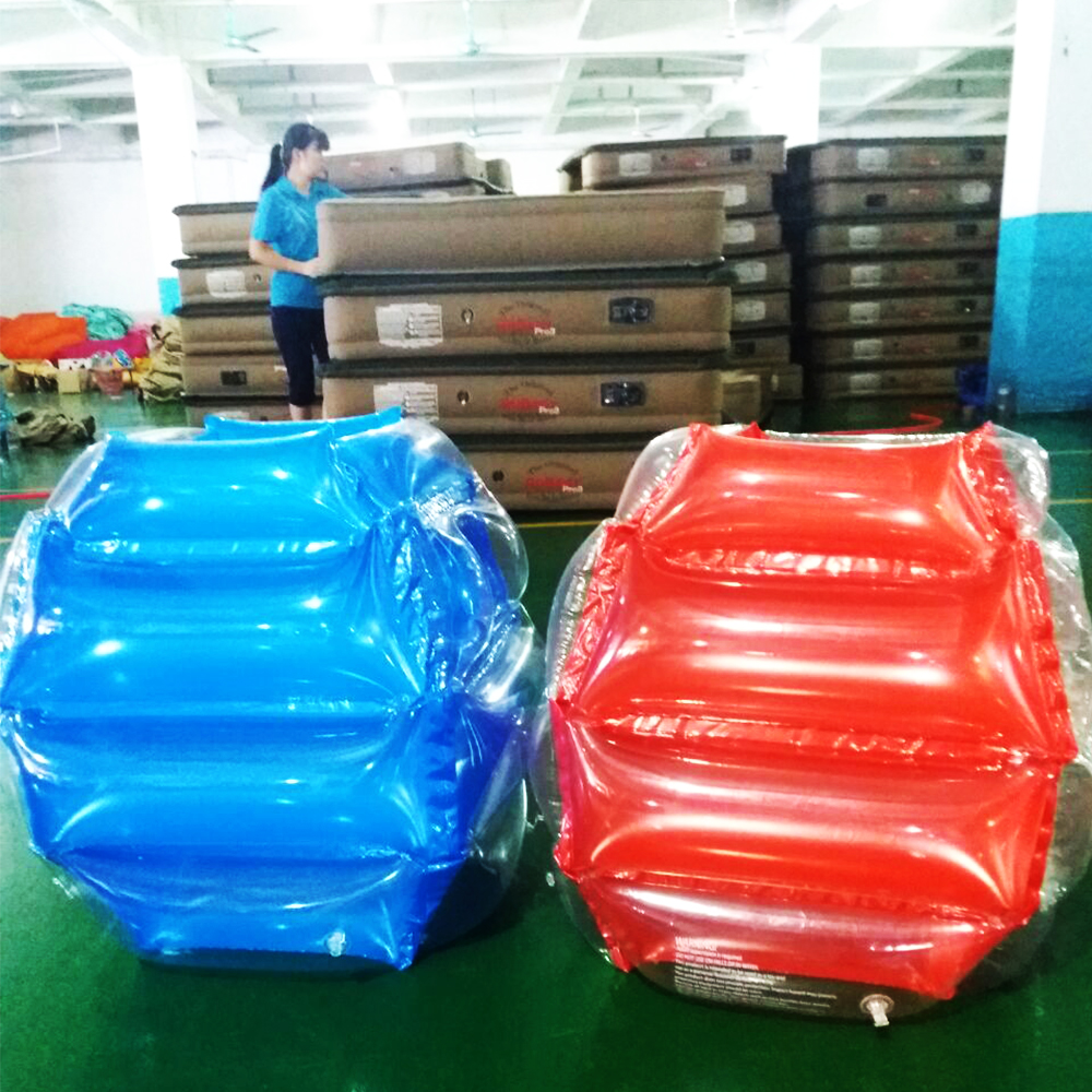 JIAINF 60*50cm Air Bubble Zorb Ball Bumper Inflatable Body Suit Eco-Friendly PVC Wearable Body Soccer Suit For Kids Knocker Ball