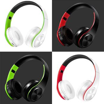 Headband Bluetooth Headphone Portable Bluetooth Bluetooth Sans Fil Casque Sport Earphone for PC Type-C phone Stereo Headset