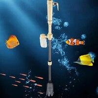 Аквариум Батарея Syphon Авто Fish резервуар для воды Вакуумный Гравий фильтр очистки насос легко установить и эксплуатации