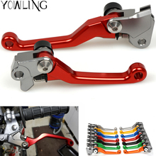 RED CNC Pivot Brake Clutch Levers Dirt Bike for honda CRF250L CRF250M 2012 2013 2014 2015 Enduro Supermotard