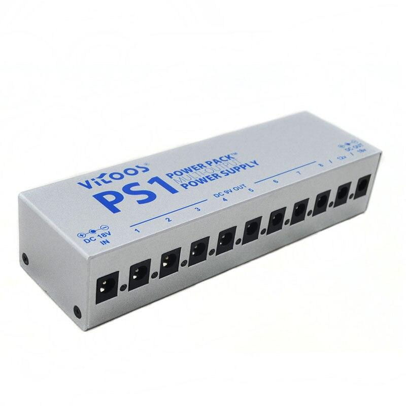 Электрогитары эффект адаптер 10 канал из положить Питание струнный инструмент Аксессуары для гитары PS1 - 4