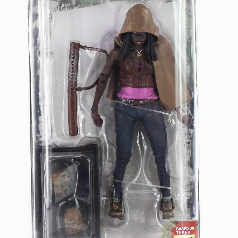12cm AMC Series NECA The Walking Dead Michonne PVC Action Figure with New accessoriews Toy мегафон amc se116 продам киев