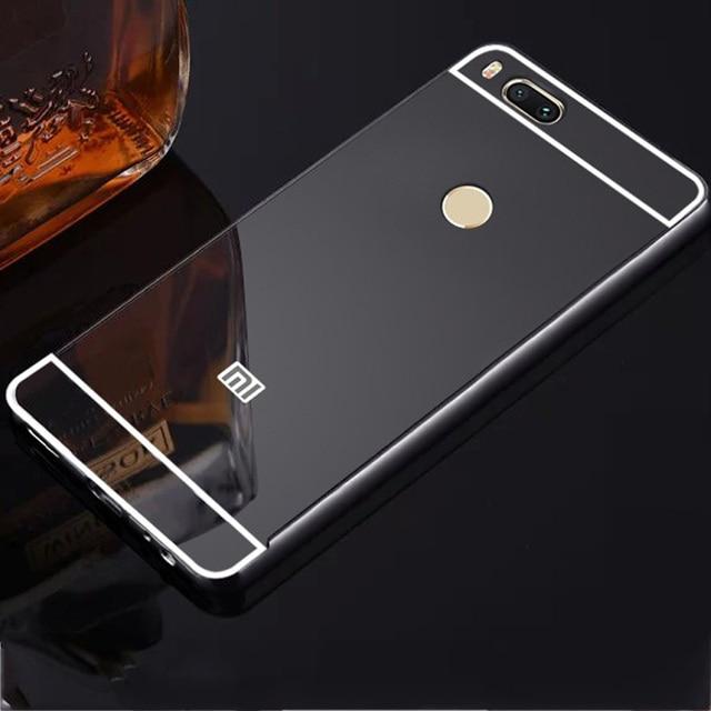 purchase cheap 3979c bdc7c US $3.7 |For Xiaomi Mi A1 MiA1 Case Mirror Aluminum Metal Bumper & Acrylic  PC Back Cover For Xiaomi Mi 5X Mi5X Phone Case Plating Cases -in Phone ...