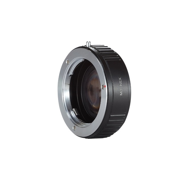Selens Adaptador MD Lente para NEX a7r Booster Focal Reductor De Velocidad 6/7/5