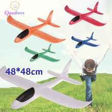 Diy Kinderen Speelgoed Schuim Vliegtuig Hand Gooien Vliegtuig Flying Zweefvliegtuig Vliegtuig Helikopters Vliegende Vliegtuigen Model Vliegtuig Speelgoed Voor Kids Outdoor game