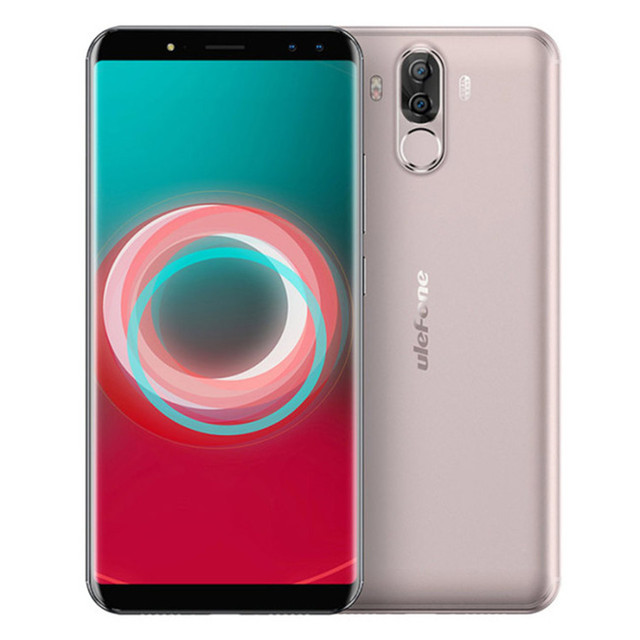 ULEFONE POWER 3S 4GB+64GB ROM Helio P23 MTK 2.0GHz Octa Core 6.0 Inch FHD+ Full Screen Android 7.1 6350mAh 4G LTE Smartphone