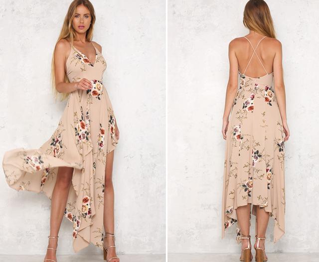 Elegant Boho Maxi Dress
